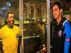 Costa Rica se motiva visitando museo de Pelé
