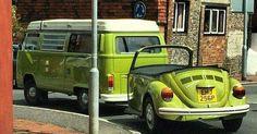 Volkswagen camper bug trailer