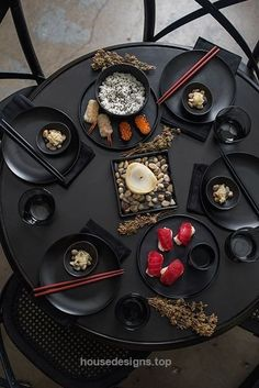 nice awesome Zen Asian-Inspired Table Setting by www.top-homedecor…… by www….  http://www.housedesigns.top/2017/07/19/nice-awesome-zen-asian-inspired-table-setting-by-www-top-homedecor-by-www/