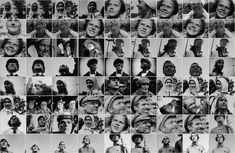Visualizing Vertov by Lev Manovich The_Eleventh_Year_shots.faces_only
