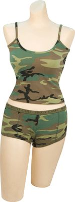 Womens Camo Casual Tank Top -- Barre Army/Navy Store Online Store