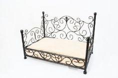 Amazon.com: Black Phoebe Cat/Dog Bed Metal Frame w/Cushion $85.00