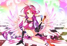Anime No Game No Life  Jibril (No Game No Life) Papel de Parede