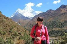 Tewkesbury Admag: Anne-Marie Dodson takes on Mount Edith Cavell in 2015