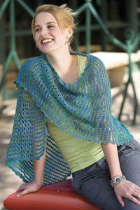 Tunisian Crochet Shawl. Don't know how to do this... :( yet?