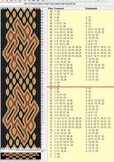 24 tarjetas, 3 colores, repite cada 24 movimientos // sed_843 diseñado en GTT༺❁