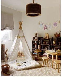 인디언 텐트의 편안한 디자인 예~