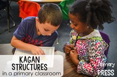 Awesome post about incorporating Kagan structures in a primary classroom...lots of ideas!