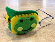 Frog eye patch for kids. Wear to help treat by KristenDSimons