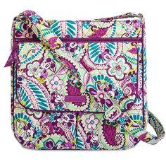 Disney Vera Bradley Bag - Plums Up - Mailbag