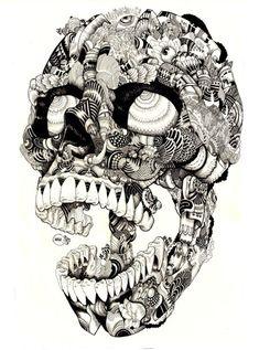 Skulltastic by Ian Macarthur