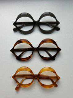 Pierre Cardin glasses (1970's)