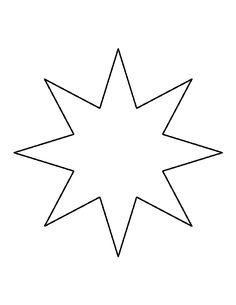 Easy To Make Christmas Star Decorations  Template Star