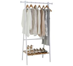Buy HOME Foldable Clothes Rail - White at Argos.co.uk, visit Argos.co.uk to shop online for Hanging rails, Bedroom furniture, Home and garden