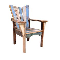 Outdoor chair made from pallets?