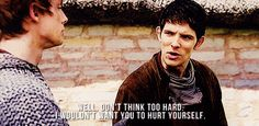 Merlin (BBC) my reaction to talking to most people