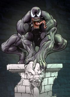#Venom #Fan #Art. (Venom) By: Muglo. (THE * 5 * STÅR * ÅWARD * OF * MAJOR ÅWESOMENESS!!!™) ÅÅÅ+