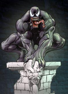 #Venom #Fan #Art. (Venom) By: Muglo. (THE * 5 * STÅR * ÅWARD * OF * MAJOR ÅWESOMENESS!!!™) ÅÅÅ+