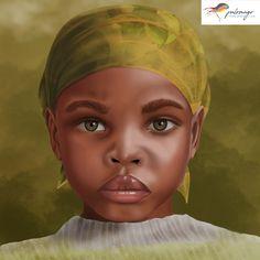 Ilustración digital #digitalillustration #niñosdelmundo #childrenoftheworld