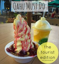 Oahu Must Do: The Tourist Edition because let's face it, playing tourist is fun!