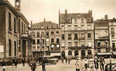 NANTES avant & en 39/45: Place du commerce 1925