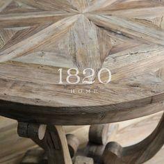 Сельский экспорта деревянной мебели в США американской / европейской классической нога согнута круглый стол / старый вяз паркета столе - Taobao