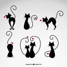 Resultado de imagem para dibujos de gatos para aplicaciones