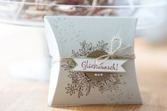 Noch eine Pillow-Box - Card&PhotoArt byTanja