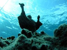 Image result for statue underwater