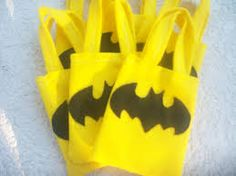Image result for batman party favor bags