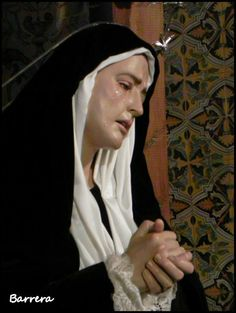 Oh Sorrowful Mother pray for us.