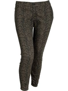 Old Navy snake print jeans.  I want!