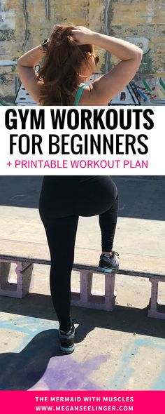 I'm going to show you:  How to get results from lifting at the gym The best workout plan for fast results The most efficient workout schedule for women  How to focus on yourself  The two things I can't slay the gym without #workout #workoutmotivation #workoutlabsfit  #gym #printable #fitness #exercise