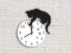 relógio de parede em mdf 40 x 40 cm