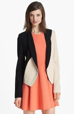 Rachel Roy Crepe Tuxedo Jacket  - not with that dress..