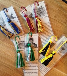 Harry Potter book page Bookmarks  by kariannkelly