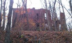 Abandoned school ruins in Rendville Ohio  #abandoned #school #ruins #rendville #ohio #photography