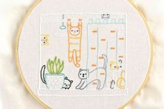 Our Top 30 Free Embroidery Designs Basic Embroidery Stitches, Embroidery Sampler, Learn Embroidery, Embroidery For Beginners, Cross Stitch Embroidery, Embroidery Designs, Hand Embroidery Patterns Free, Cross Stitches, Hello Kitty Wallpaper