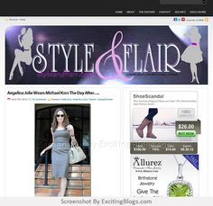 STYLE & FLAIR [ Fashion Beauty Shopping Home Celebrity Looks ] - Click to visit site:  http://1.33x.us/J6BTEr