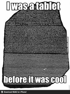 I science humor so much! History of Macedonia the ancient kingdom of Greece The post Hipster Rosetta Stone appeared first on Gag Dad. History Jokes, History Teachers, Teaching History, Funny History, Art History, History Class, Stonehenge, Nerd Jokes, Rosetta Stone