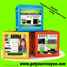 Have you or someone you know thought of joining me in my It Works business❓ For today ONLY It Works is offering you a FREE box of wraps if you join before Tuesday night!  Inbox me  Text 403-835-7766 or   hurry to my website listed below ⏬⏬⏬⏬ www.getyourcrazyon.com