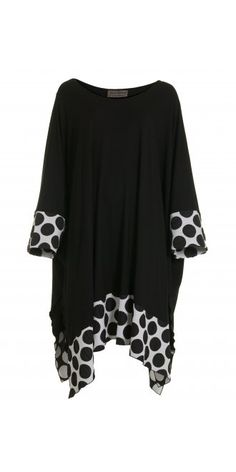 Big Spot Oversized Tunic