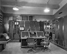 Nuclear test control room - 1957