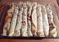 gefüllte Pfannkuchen