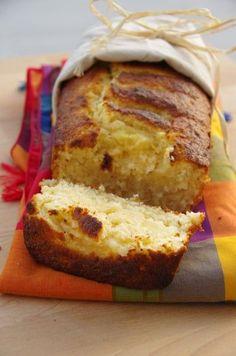 L'antillais {Cake à l'ananas, noix de coco et rhum} l ananas est mixé