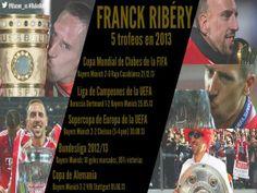L'anno da record di Frank Ribery: 5 trofei #pallonedoro