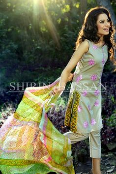 Shirin Hassan Lawn Dresses 2014 For Women 013