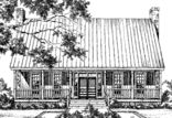 Texas-Style Farmhouse - Barry Moore | Southern Living House Plans