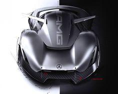 Mercedes-Benz AMG Concept Design Sketch by Sebestyn Marcell – En Güncel Araba Resimleri Car Design Sketch, Car Sketch, Design Cars, Futuristic Cars, Mercedes Benz Amg, Car Wheels, Transportation Design, Automotive Design, Motor Car