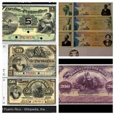 When Puerto Rico had it's own money